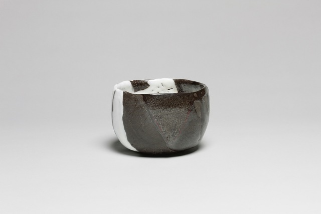 , 'Tea Bowl with Black and White Glaze,' 2015, Onishi Gallery