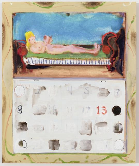 , 'Calendar,' 2015, Galerie Eva Presenhuber