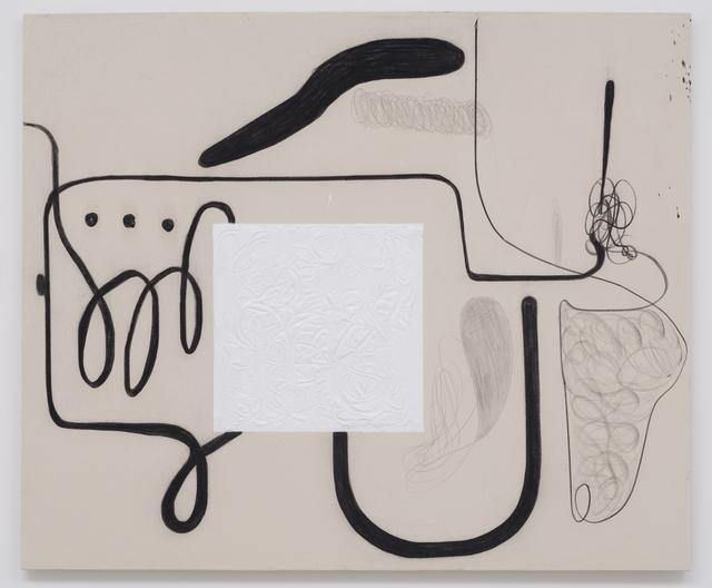 Christian Rosa, 'Sodom and Gomorrah', 2015, Painting, Charcoal, oil paint and pencil on canvas            Carbón, pintura al óleo y lápiz sobre lienzo, OMR