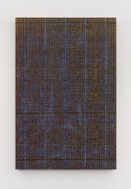 , 'Five Lines - Gold and Purple,' 2018, Aye Gallery