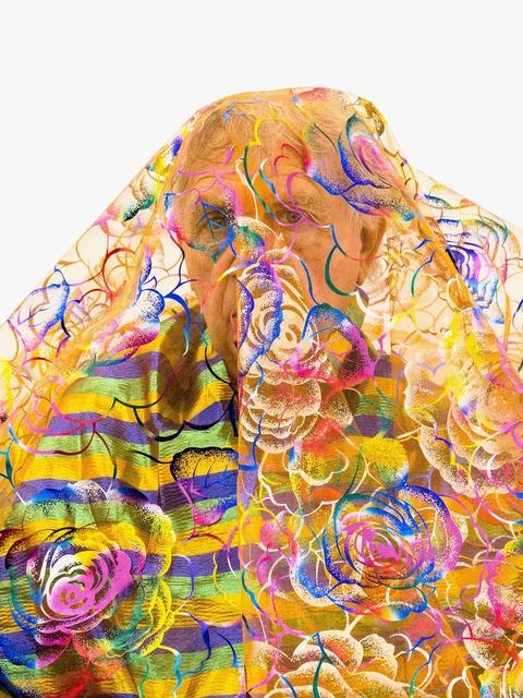 , 'Shiny Self-Portrait,' 2016, kurimanzutto