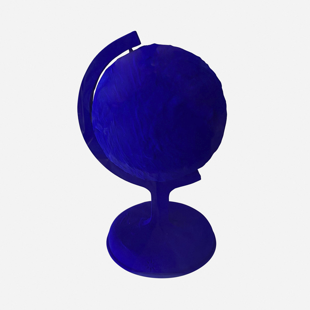 Yves Klein, 'La terre bleue', 1957, Sculpture, IKB pigment and synthetic resin on plaster, Artsy x Rago/Wright