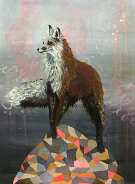 , 'Fox on Hill,' , Gail Severn Gallery