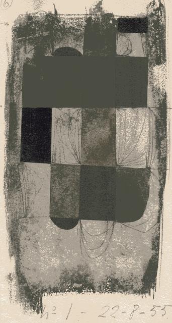 , 'Abstracción,' 1955, Jorge Mara - La Ruche