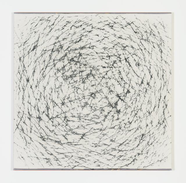 , 'Diamond and Carbon Black 100 square,' 2016, Galerie Onrust