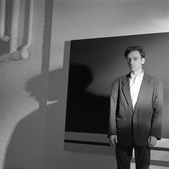 Jeannette Montgomery Barron, 'Peter Halley, NYC', 1986, Photography, Digital Print, Patrick Parrish Gallery