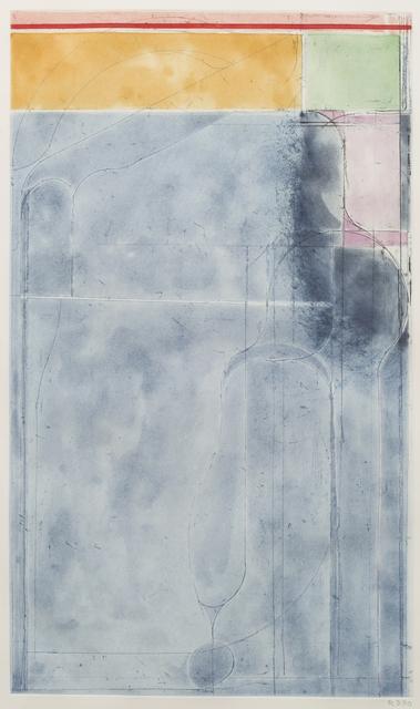 , 'Large Light Blue,' 1980, Susan Sheehan Gallery