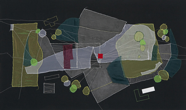 , 'OSH, Brooklyn (Plot re-visualized),' 2012, Jane Lombard Gallery
