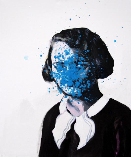 , 'Blue dots,' 2016, Galerie Sandhofer