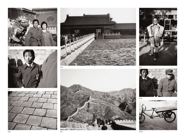 Andy Warhol, 'Eight works: (i) Two Women; (ii) Young Woman at Great Wall; (iii) Great Wall; (iv) Temple; (v) The Great Wall of China; (vi) Unidentified Woman; (vii) Young Man and Woman at Great Wall; (viii) Bicycle', 1982, Phillips