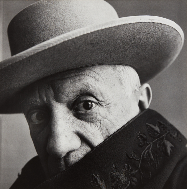 Irving Penn, 'Pablo Picasso at La Californie, Cannes, France', 1957, Photography, Gelatin silver print, Phillips