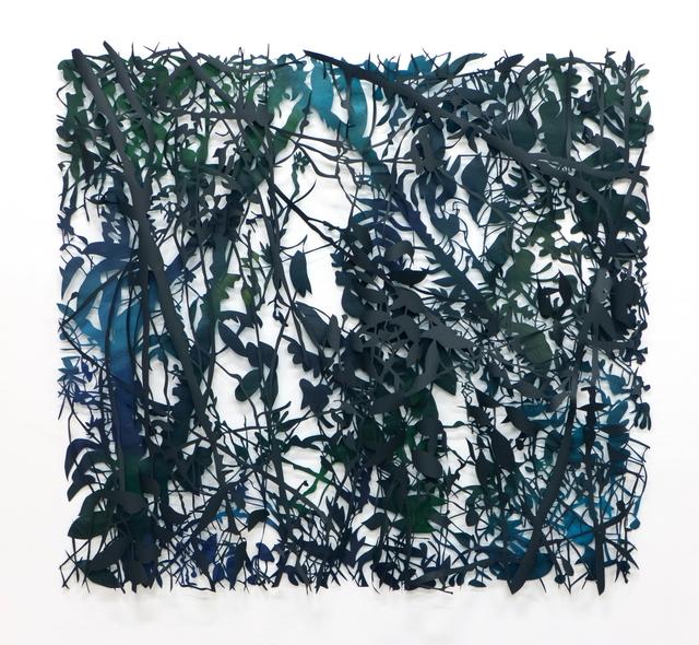, 'Scrub blau,' 2019, Le Salon Vert