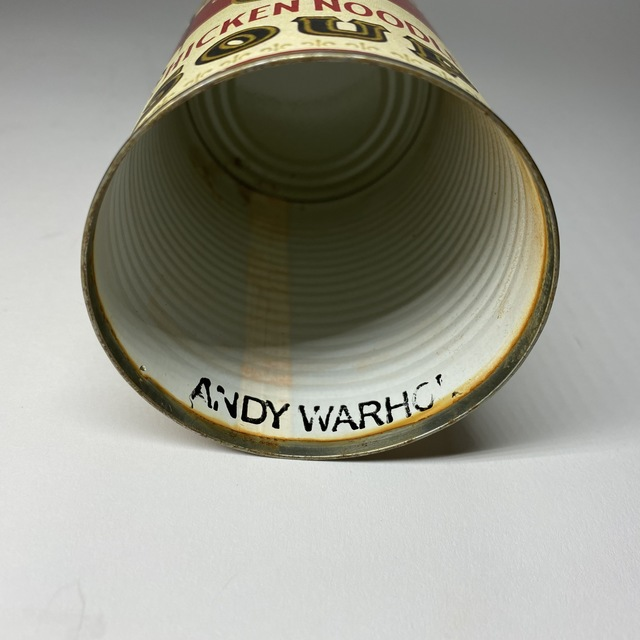 Andy Warhol, 'Andy Warhol, Campbell's Chicken Soup Can Signed by Andy Warhol ', ca. 1960s/ 70s, Design/Decorative Art, Metal, Deco Days Gone By