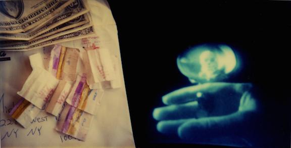 , 'Drugs, Money & Skull,' 1970-2012, MARTOS GALLERY