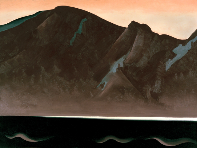 Georgia O'Keeffe, 'Mountain at Bear Lake—Taos', 1930, White House Historical Association