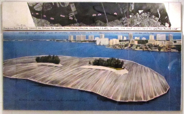 , 'CHRISTO Surrounded Islands (Project for Biscayne Bay, Greater Miami, Florida) ,' 1982, Contini Art Gallery