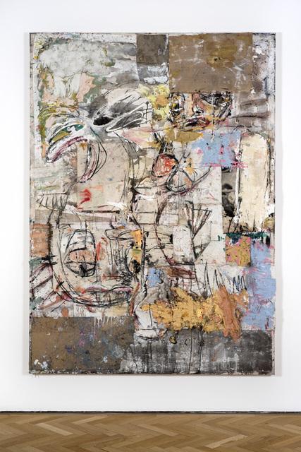 , 'Namazu and Zumbi broken (blue yellow white),' 2017, Vigo Gallery