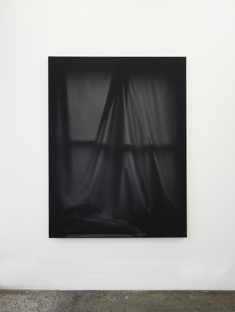 , 'Bedroom Window (Black #3) 6 month exposure. Winter-Summer 2015,' 2015, V1 Gallery