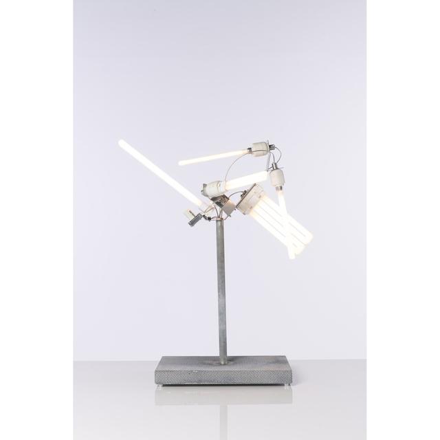 Michele de Lucchi, 'Groviglio - Table lamp', 2001, Design/Decorative Art, Métal galvanisé, tole et néon, PIASA