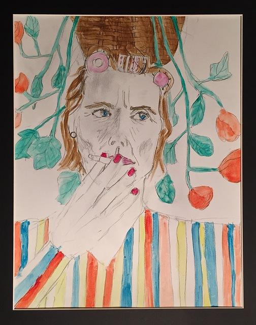 , 'old & smoking,' 2016, Yulia Topchiy