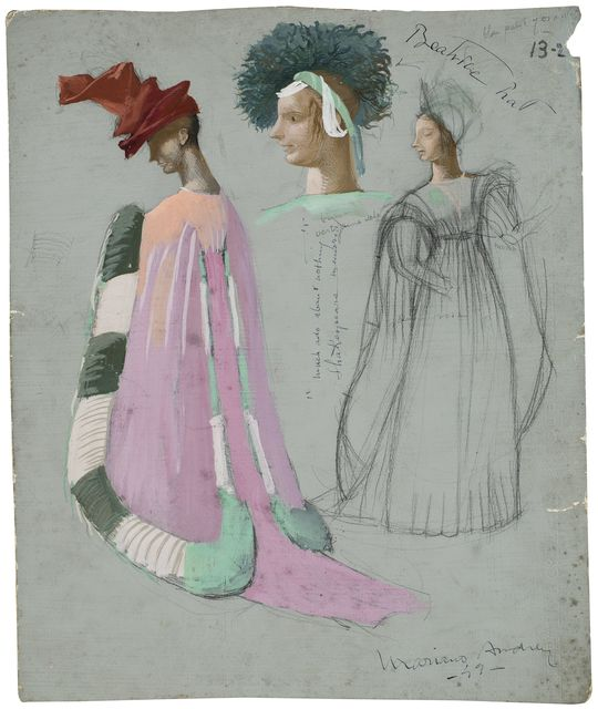 , 'Scenography drawing: Beatrice,' 1949, Artur Ramon Art