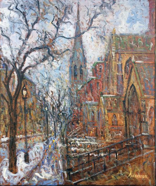 , 'Vue on Newbury Street, Snow,' 2017, Galerie d'Orsay