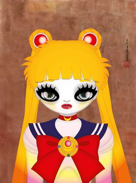 , 'Sailor Moon Bronze,' 2016, Shine Artists | Pontone Gallery