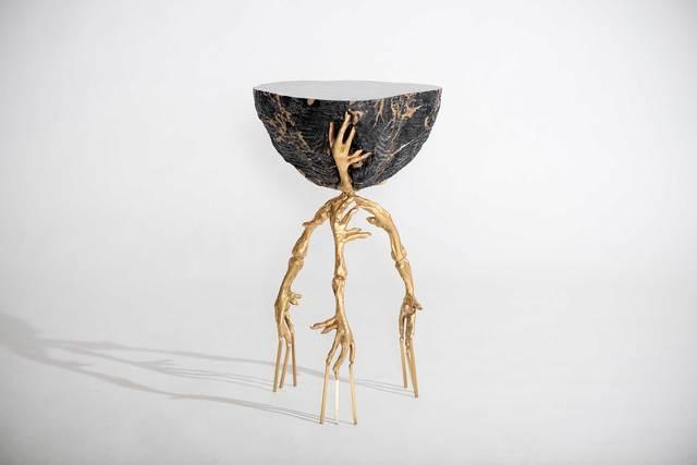 , 'Edward scissorhands side table,' 2014, Casati Gallery