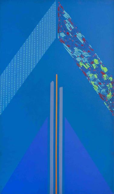 , 'Blue Triangle,' 1966, SMAC
