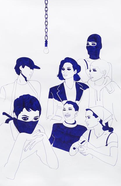 , 'The Heist,' 2017, India Dickinson