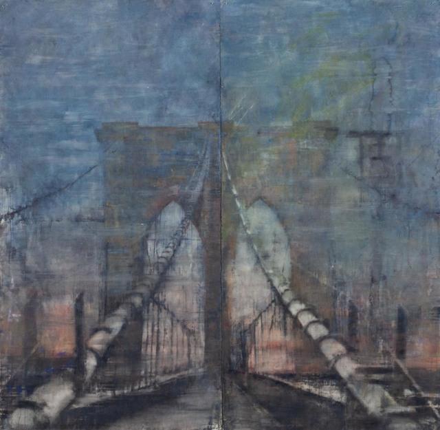 "Norbert Waysberg, '""Brooklyn Bridge""', 2017, Gallery 104"