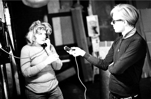 , 'Andy Warhol records Brigid Berlin talking on the Factory payphone,' 1965, Milk Gallery