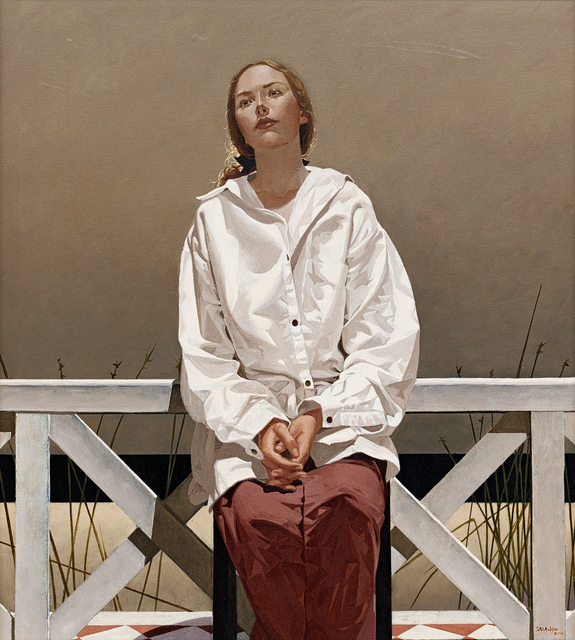 Neil Rodger, 'Young Woman at a Beach House', 2000, Strauss & Co
