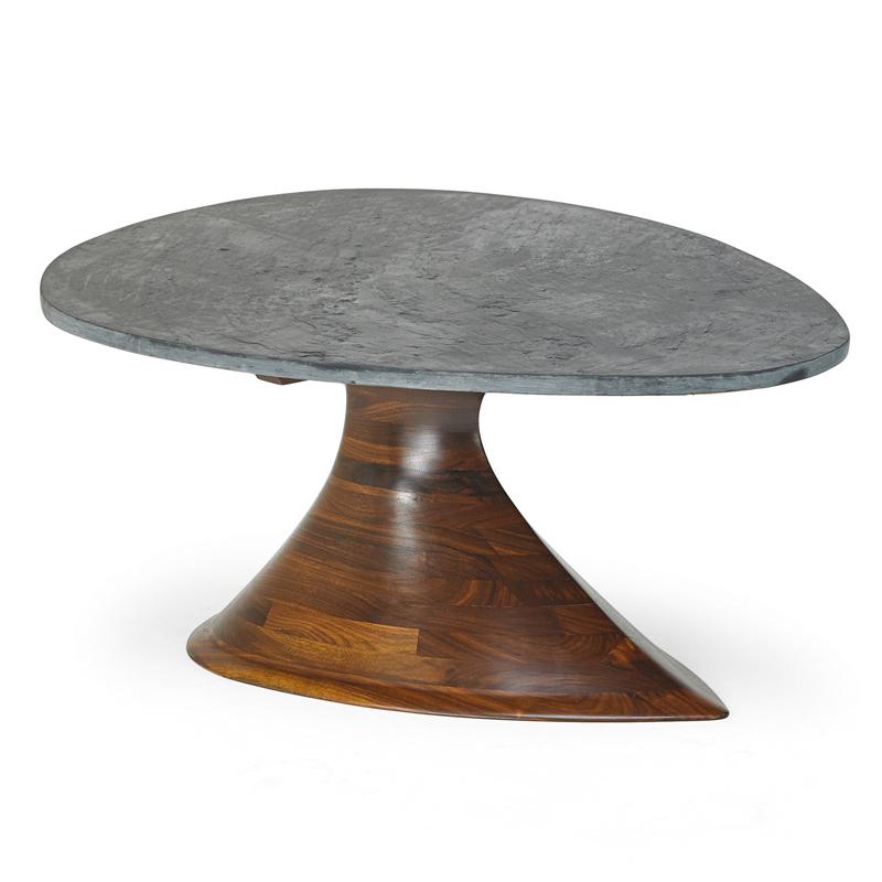 Phillip Lloyd Powell, U0027Fine Coffee Table, New Hope, PAu0027, 1960s