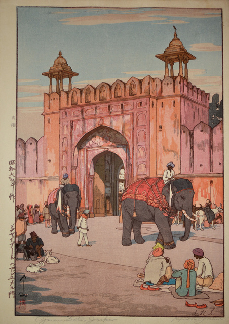 , 'Ajmer Gate, Jaipur,' 1931, Ronin Gallery