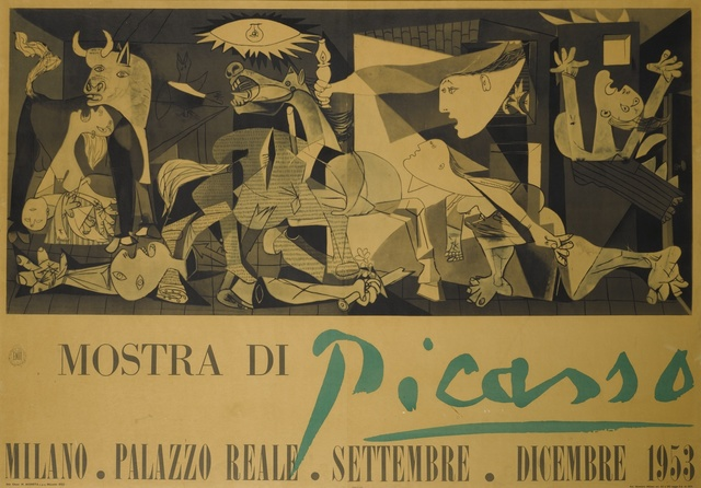 Pablo Picasso, 'Mostra di Picasso Guernica (Czwiklitzer 76)', Print, Offset lithograph printed in colors, Sotheby's