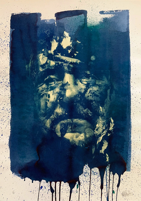 Vhils, 'The Unknown Icon ', 2009, Jewel Goodby Contemporary