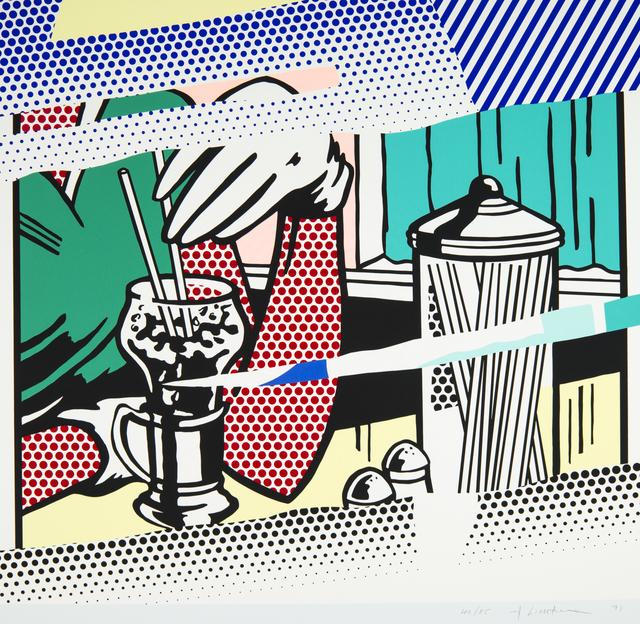 , 'Reflections on Soda Fountain,' 1991, Ronald Feldman Fine Arts