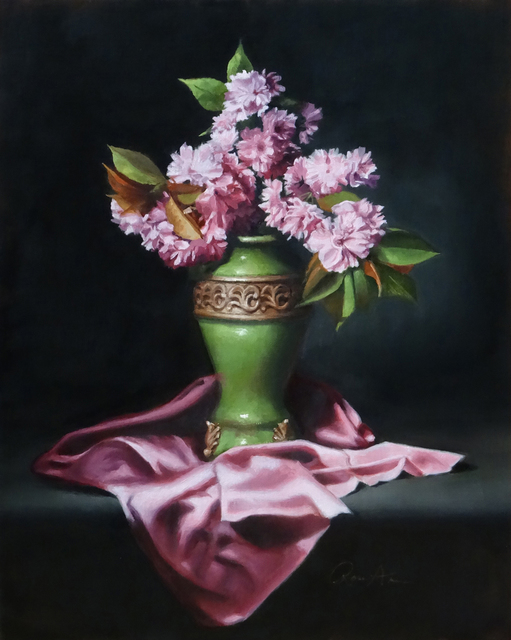 , 'Cherry Blossoms,' 2019, The Galleries at Salmagundi
