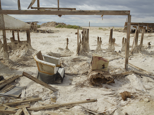 , 'Computer and Chair, Bombay Beach, California,' 2011, Marc Selwyn Fine Art