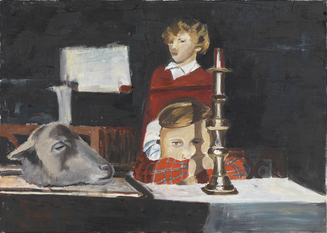 , 'Untitled (girl, candleholder, sheep),' 2014, Freedman Fitzpatrick