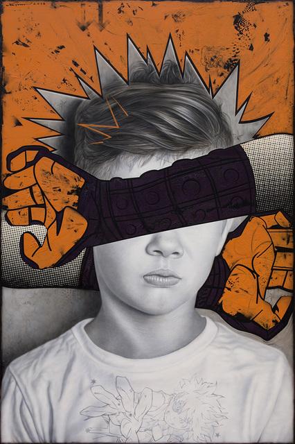 Ronald Ventura, 'Comic Lives 1', 2018, Whitestone Gallery