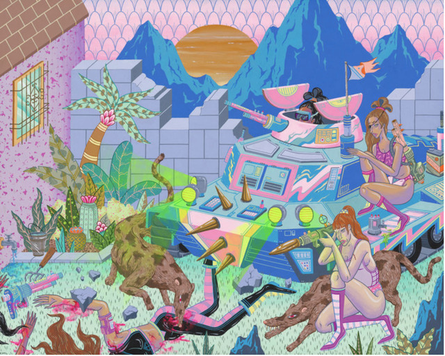 Kristen Liu-Wong, 'The Invasion', Corey Helford Gallery