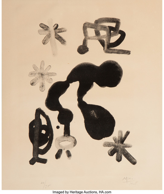 Joan Miró, 'Untitled', 1948, Heritage Auctions