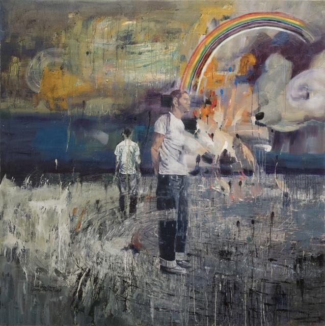 , 'Rainbow man,' 2018, Primo Marella Gallery