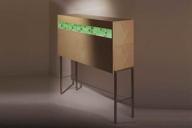 ", '""Giardino"" cabinet,' 2006, Casati Gallery"