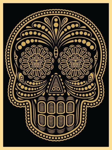 Shepard Fairey, 'Los Muertos', 2008, Print, Screenprint, Samuel Owen Gallery