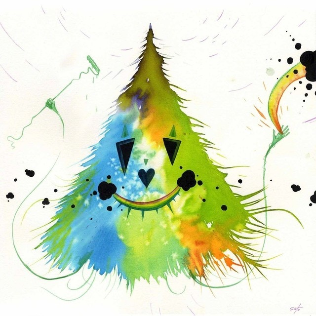 , 'Rainbow,' 2009, Jonathan LeVine Projects