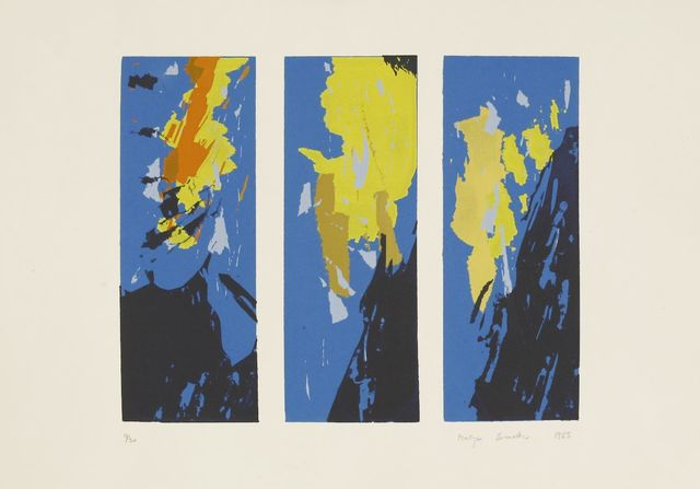 Martyn Brewster, 'TRIPTYCH', 1985, Print, Screenprint in colours, Sworders