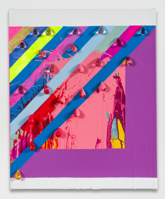 , 'untitled (splattered prism),' 2016, Galerie Lelong & Co.
